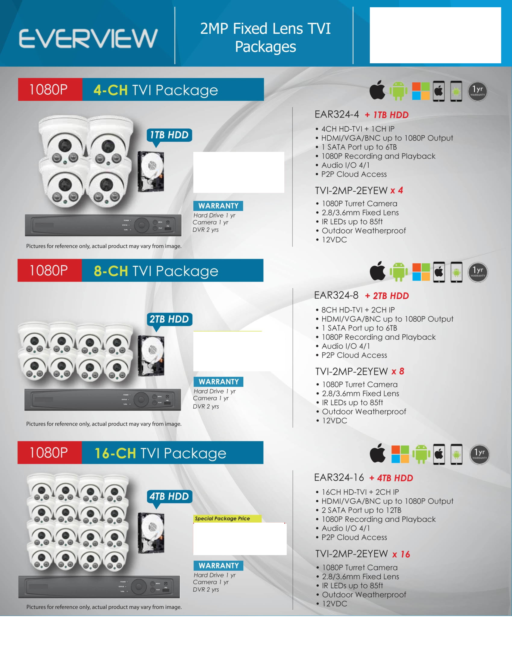 Everview_-Packages-_No-Price-2 HD Camera Packages Full Promotion Price - Compare & Shop