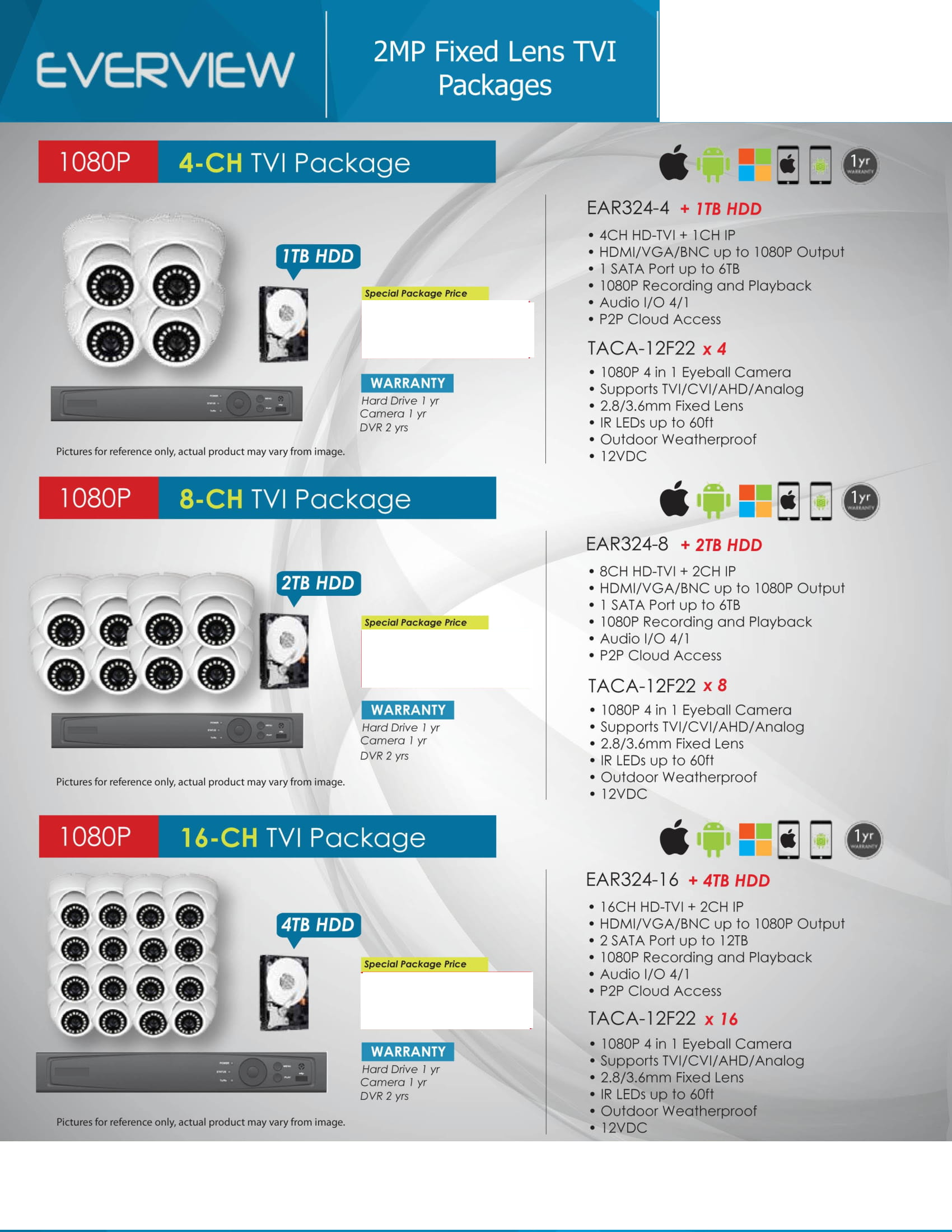 Everview_-Packages-_No-Price-3 HD Camera Packages Full Promotion Price - Compare & Shop