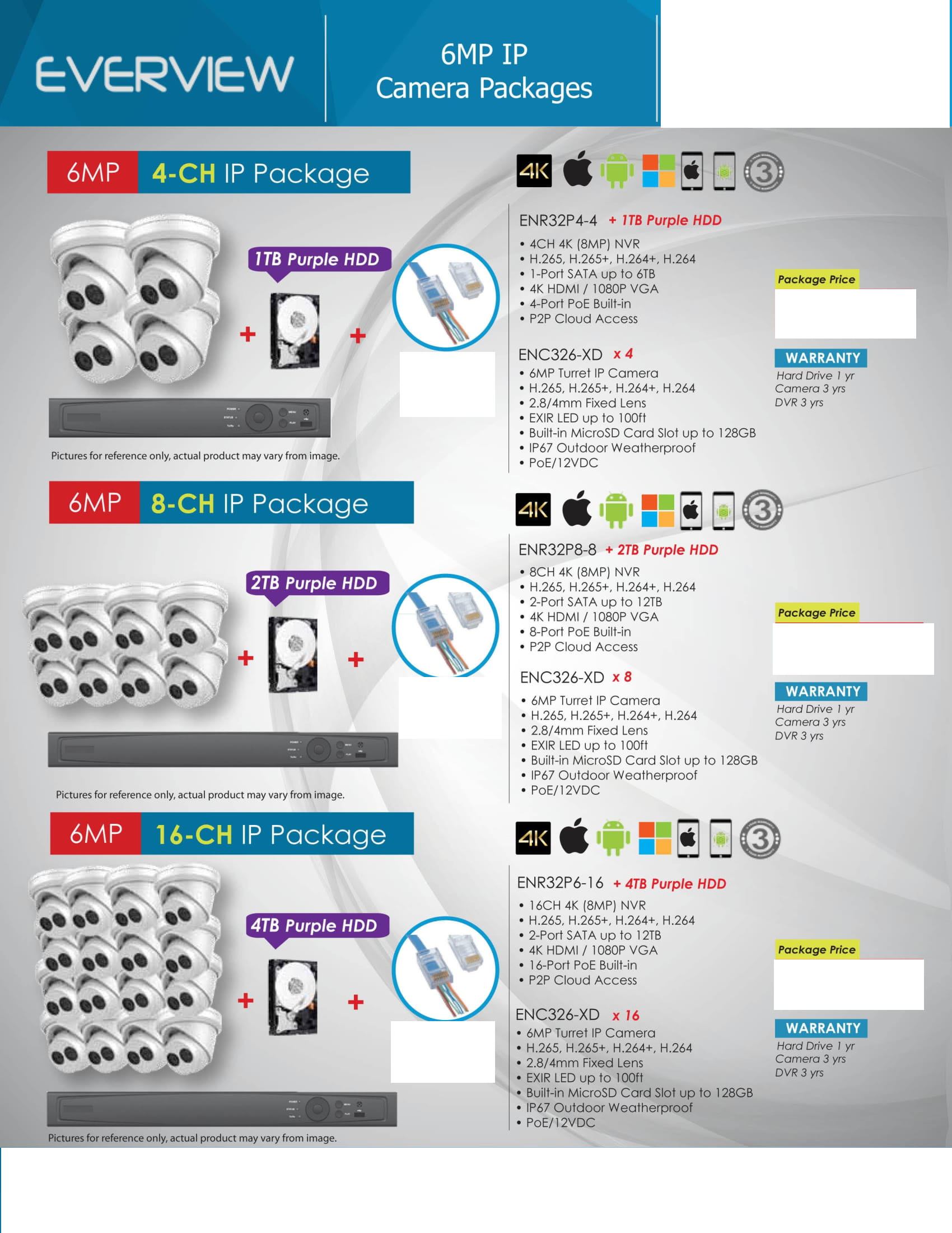 Everview_-Packages-_No-Price-5 HD Camera Packages Full Promotion Price - Compare & Shop