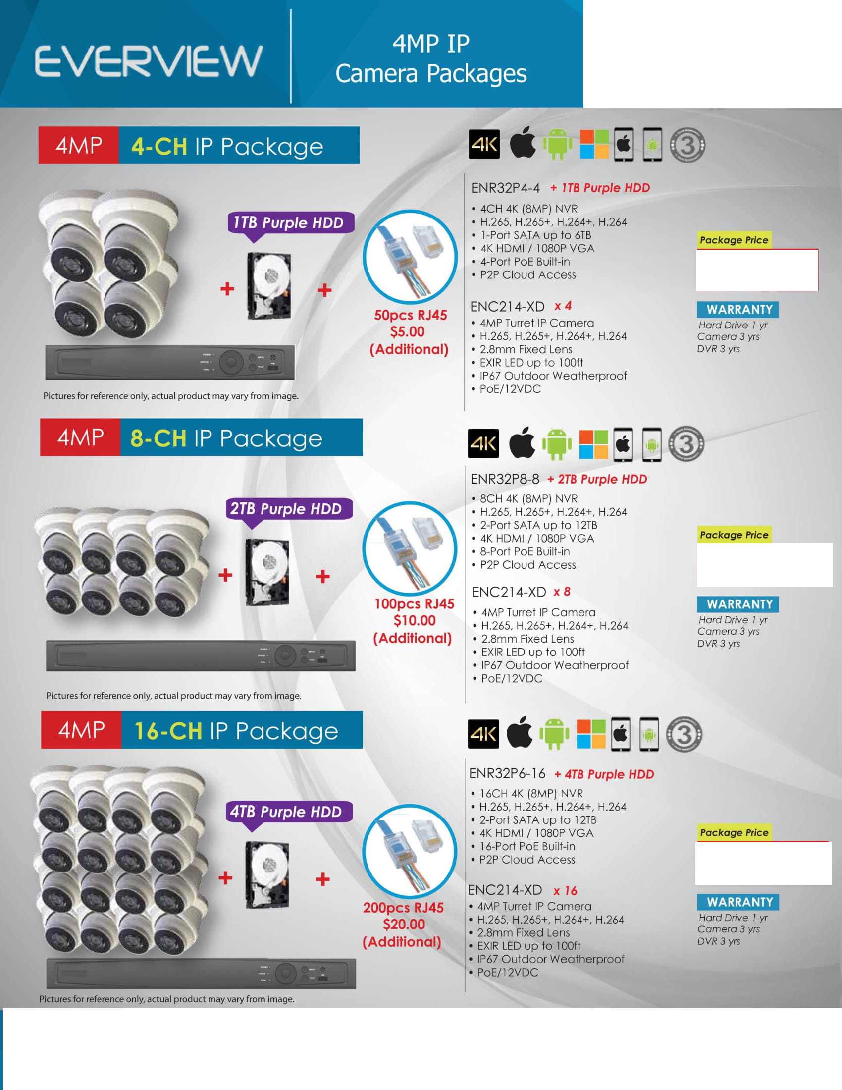 Everview_-Packages-_No-Price-6 HD Camera Packages Full Promotion Price - Compare & Shop