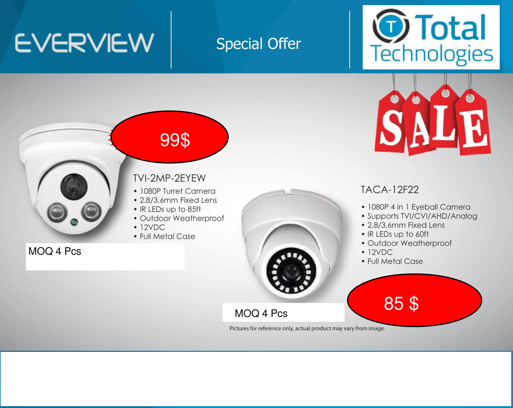 HD Camera Packages Full Promotion Price – Compare & Shop – Call For Password 888-841-8659